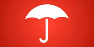 Travelers Insurance logo of an open umbrella